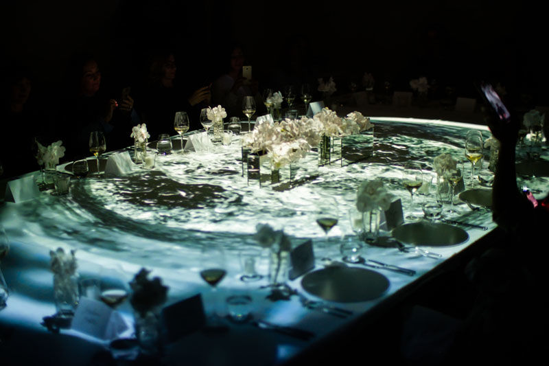 3D table projection mapping