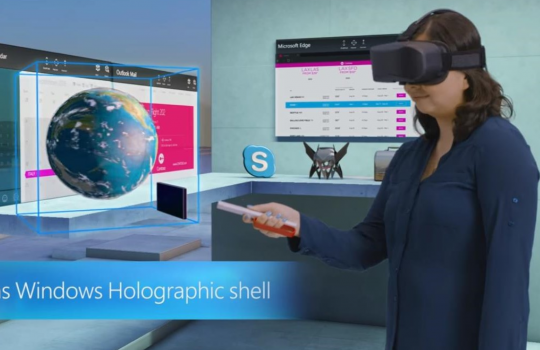 HOLOGRAMS AND PCs - The next year comes Windows Holographic